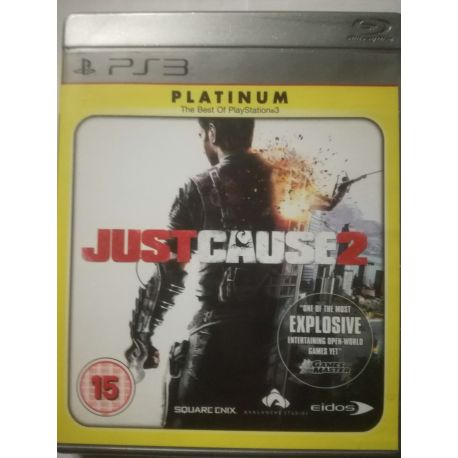 Just Cause 2 Platinum PS3