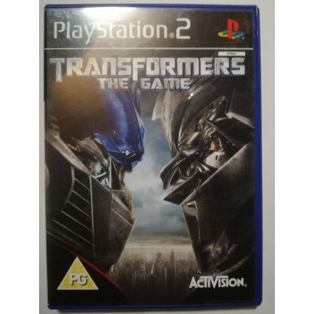 Transformers The Game PS2